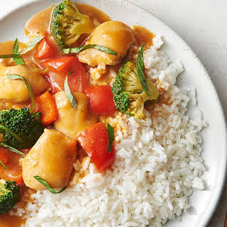Slow-Cooker Red Curry Chicken.