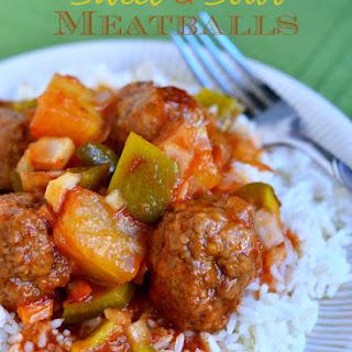 Grandma'S Sweet and Sour Meatballs Recipe