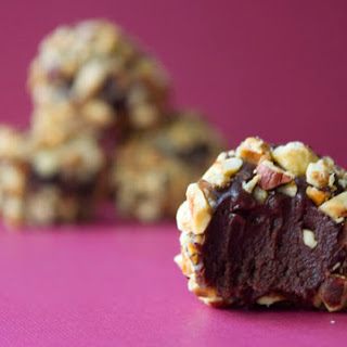 Dark Chocolate Hazelnut Truffles Recipe