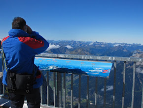 Photo: Westward View Across the Austrian Alps from the Zugspitze