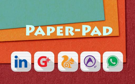 Paper Pad - Solo Theme