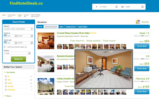 Cheap hotels in Houston near Galleria