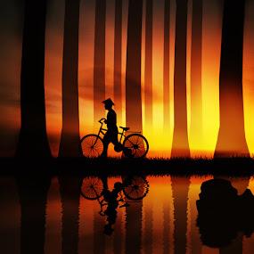 by Adya Saputra - Digital Art People