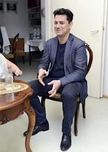 Photo: Künstlergespräch mit Saimir Pirgu (Tenor) am 24. 5.2016. Anton und Raffael Cupak. Copyright: Barbara Zeininger