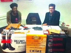 Photo: Awareness raising about Human Trafficking