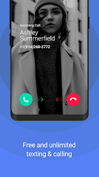 TextNow - free text + calls APK screenshot thumbnail 3