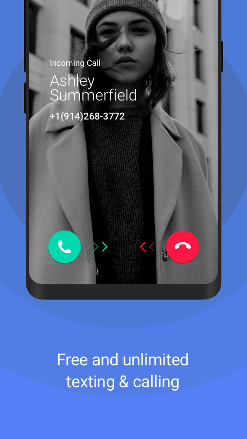 TextNow - free text + calls Screenshot 2