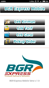 BGR Express Mobile- screenshot thumbnail