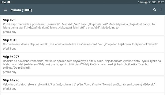 Jokes - Slovak jokes screenshot