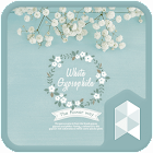 Mint gypsophila Launcher theme icon