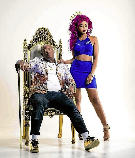 Mampintsha refutes Babes' claim that they broke up in March after he allegedly punched her.