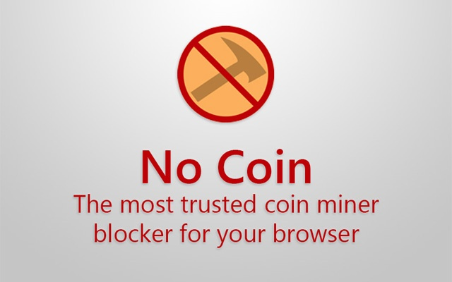 No Coin - Block miners on the web! Screenshot