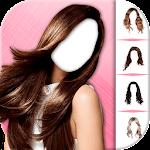 Girls Hairstyles Photo Montage