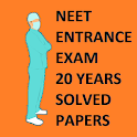 NEET entrance 22 Years Solved Question Bank icon