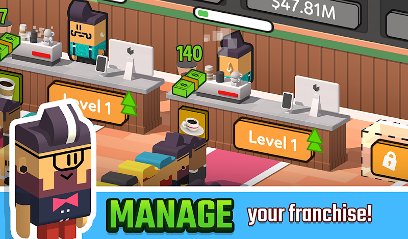 Idle Coffee Corp Screenshot 16