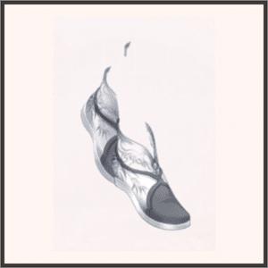 雲竹の履(くつ)