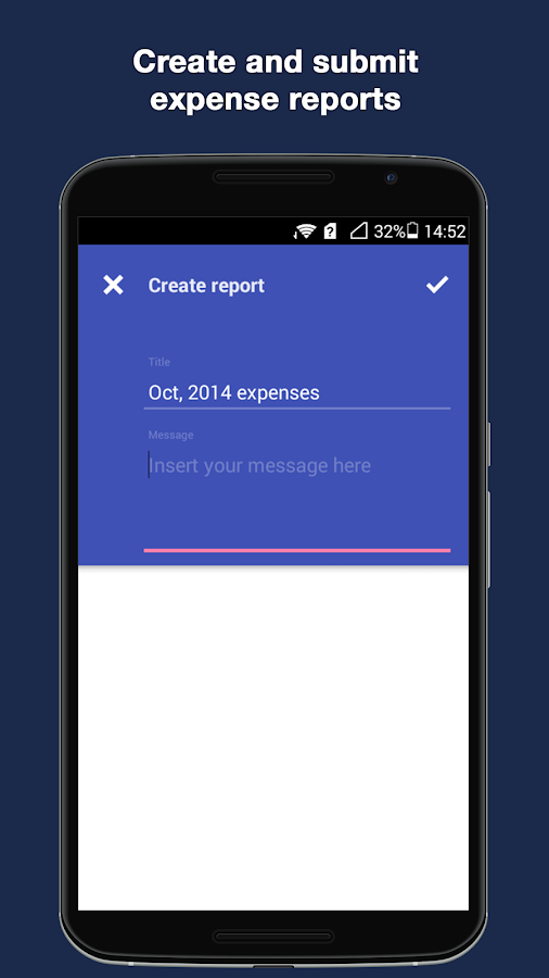 Staple - Expense Reports- screenshot
