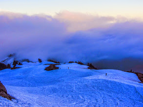 Photo: Snoboarders from Panorama Point