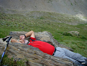 Photo: Descanso a pierna suelta.