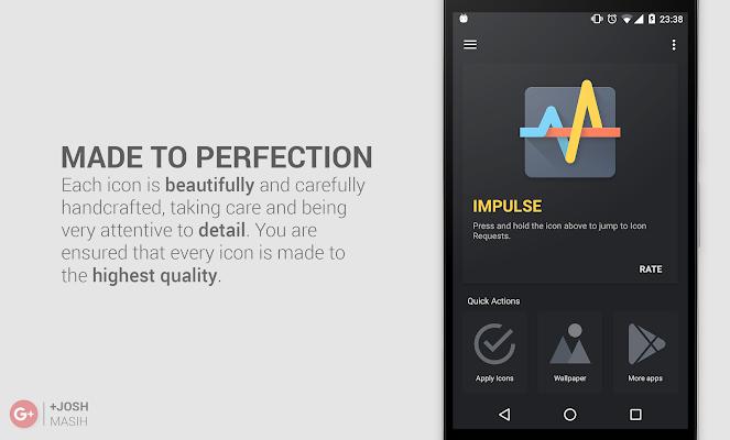 Impulse Icon Pack- screenshot