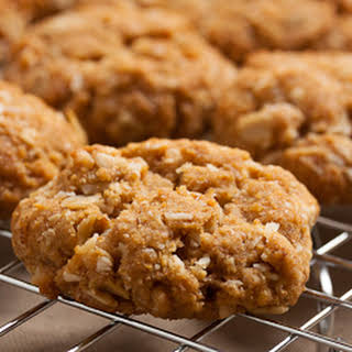 Oat And Coconut Cookies.