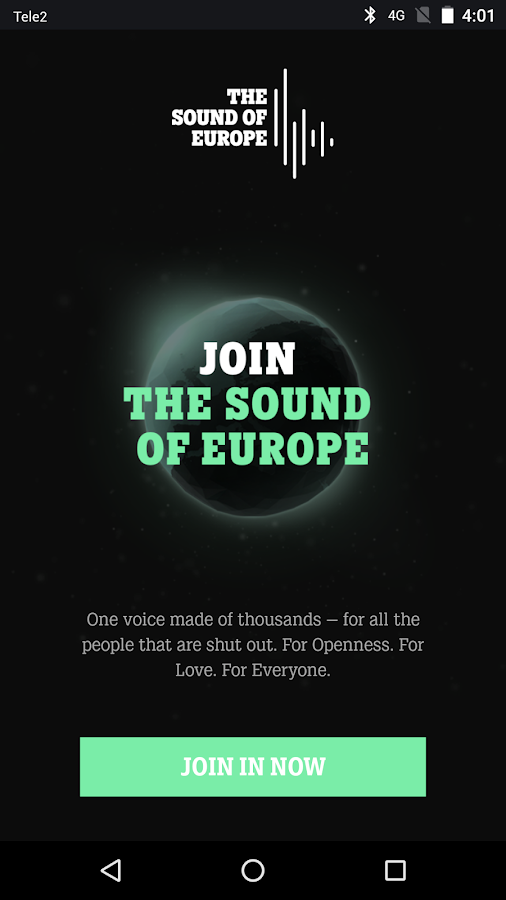 The Sound of Europe- screenshot