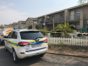 The bodies of the woman and her 16-year-old daughter were found gagged in their flat at Tasvir Mansions in Longcroft' Phoenix