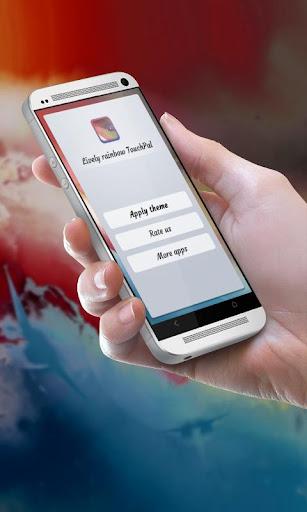 活発な虹 TouchPal