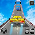 Impossible Car Stunts Racing : Crazy Car Stunts 3D icon