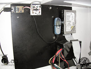Photo: eLab Hackerspace GSM Access Control System - Mounting Board