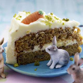 Carrot and Pecan Cake.