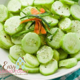 Refreshing Cucumber Lime Salad