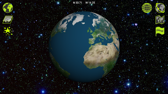 Earth 3D - screenshot thumbnail