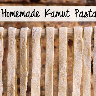 Homemade Kamut Pasta Recipe