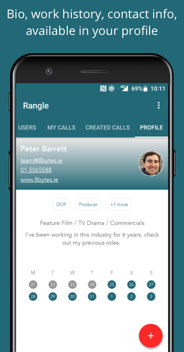 Rangle- screenshot