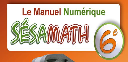 GRATUIT SESAMATH 6EME 2013 TÉLÉCHARGER MANUEL