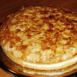 German Bienenstich or Bee Sting Cake