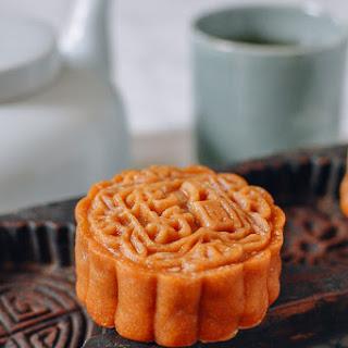 Lotus Mooncakes with Salted Egg Yolks