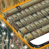 Army Camo Keyboard Theme