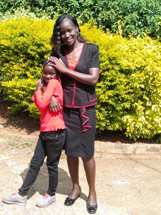 Florence Wasike with her daughter Joy Musyawa Masila