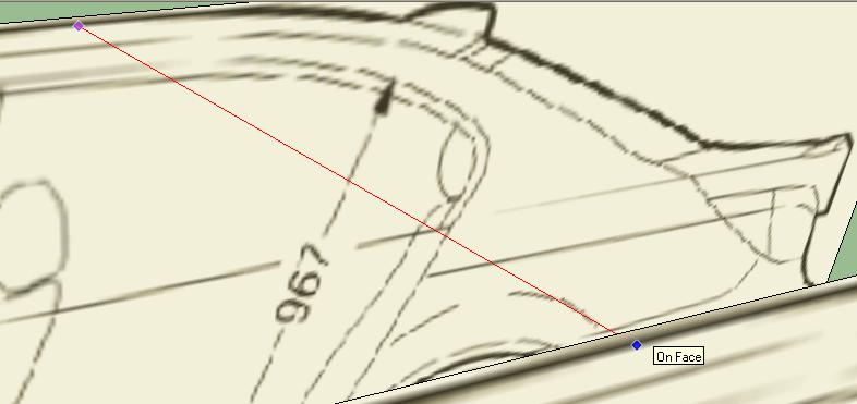 Civil D Draw Line Perpendicular : Digi studio sketchup build d model car bmw m e by