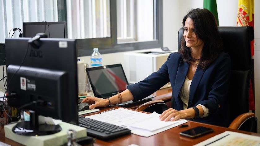 María del Mar García Lorca, concejal de Seguridad y Movilidad