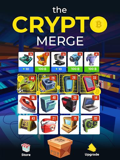 The Crypto Merge - bitcoin mining simulator 1.4 screenshots 6