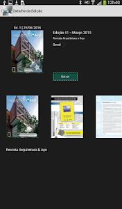 Revista Arquitetura & Aço screenshot 4