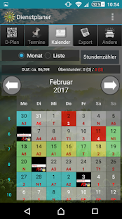 Shift planner- screenshot thumbnail