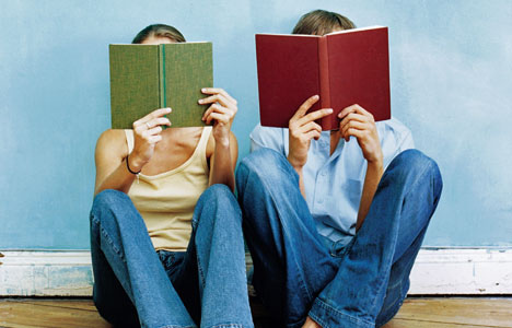 couple-reading-books | Erin ...