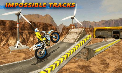 Tricky Bike Stunt Racing Tricks Impossible Tracks screenshots 1