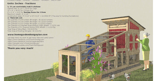S100 - Chicken Coop Plans Construction - Chicken Coop Design - How To Build A Chicken Coop_0518