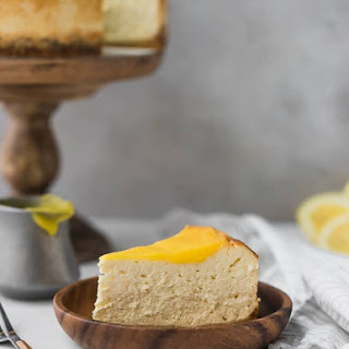 Lemon Keto Cheesecake Recipe, Low-Carb, Sugar-Free, Gluten-Free.