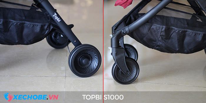 Xe đẩy cao cấp 2 chiều Topbi S1000 31